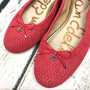 Sam Edelman Shoes - Sam Edelman Felicia Flats Coral Suede Sz 9.5